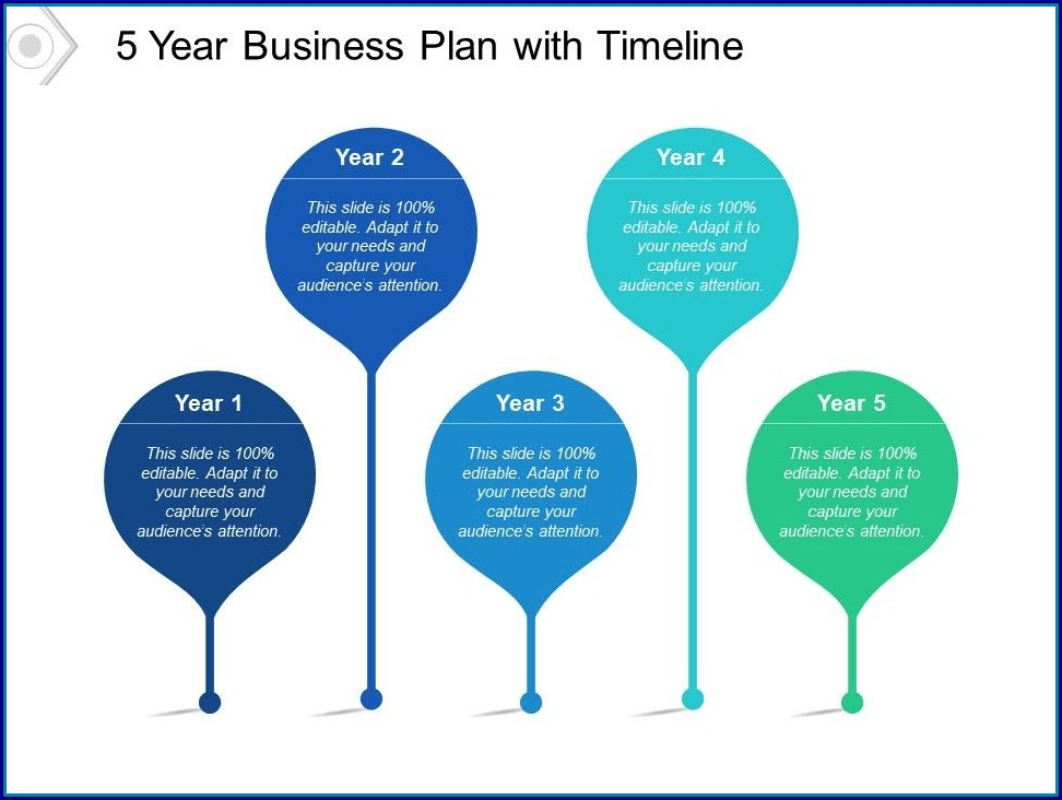 5 Year Plan Timeline Example