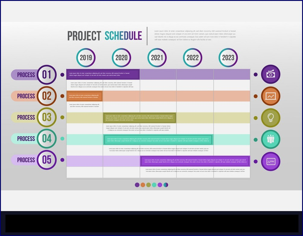 Example of Project Timetable